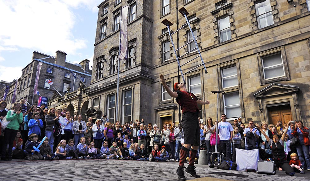 The Edinburgh Festival Fringe